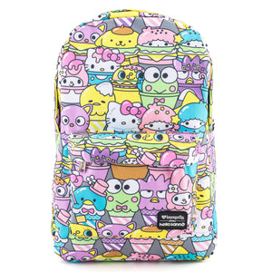 Loungefly x Hello Sanrio Friends All Over Food Print Backpack