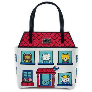 Sanrio X Loungefly Hello Kitty House Tote Bag