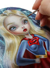 Simona Candini Super Girl Original Painting