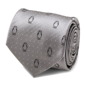 Star Wars Porg Grey Dot  Men's Tie  by Cufflinks Inc.