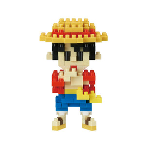 Nanoblocks x One Piece - Luffy