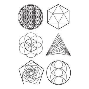 Tattly Sacred Geometry Temporary Tattoos
