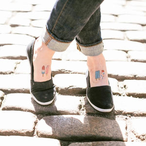 Tattly Popscicles Temporary Tattoos
