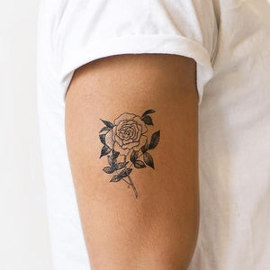 Tattly Rose Temporary Tattoos