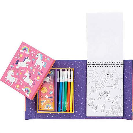 Unicorn Coloring Set - Craft Kit by Schylling