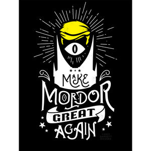Barrett Biggers Mordor Trump Limited Edition Print - PIQ