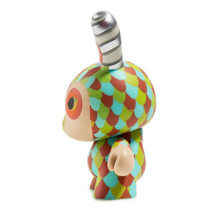 "Kidrobot The Curly Horned Dunnylope 5"" Dunny By Horrible Adorables - PIQ"