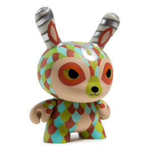 "Kidrobot The Curly Horned Dunnylope 5"" Dunny By Horrible Adorables"