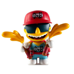 Kidrobot x The Simpsons Moe's Tavern Series Vinyl Mini Figures - PIQ