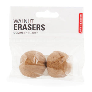 Walnut Nut Eraser