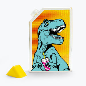T-Rex Square Water Bottle