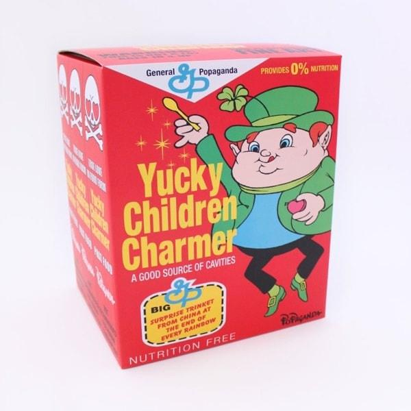 "Ron English's Yucky Children Charmer 8"" Vinyl Figure"