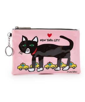 Marc Tetro NYC Cat Zip Pouch - PIQ 3de0329fdb