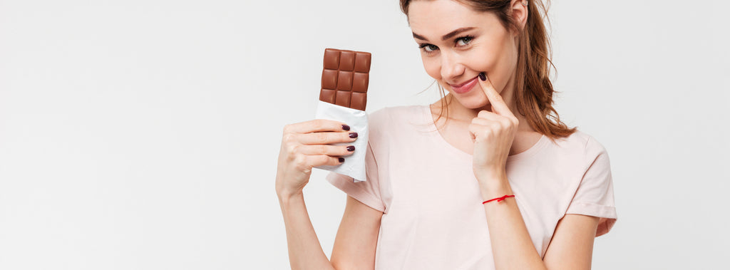 Chocolate versus Skin Health