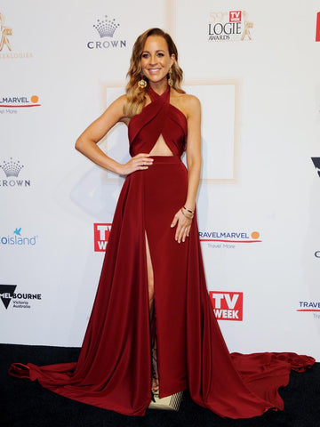 Carrie Bickmore Logies 2017