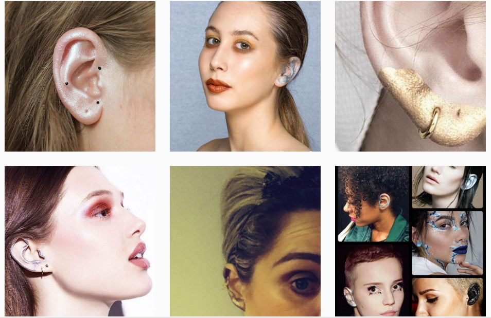 The latest trend is ear makeup (so we hear!)