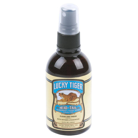 Lucky Tiger Head to Tail Deodorant and Body Spray 100ml