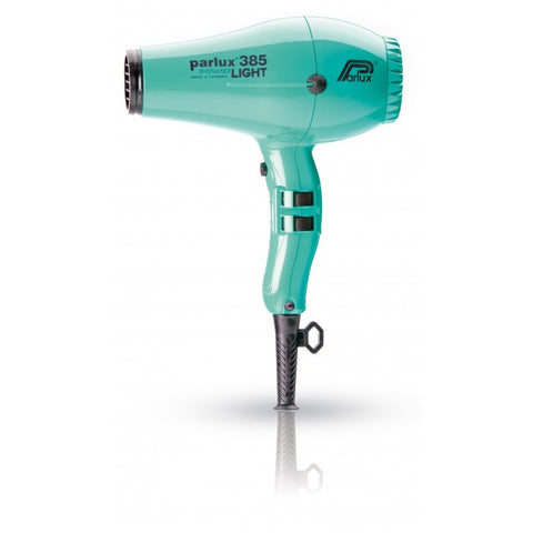 Parlux 385 Powerlight Ceramic and Ionic Dryer 2150W Green