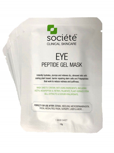 Societe Eye Peptide Gel Mask 10x 12g Pack