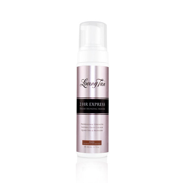 Loving Tan 2 HR Express Dark Self Tanning Mousse 200ml