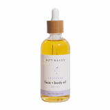 Butt Naked Lavender Body & Face Oil 90ml