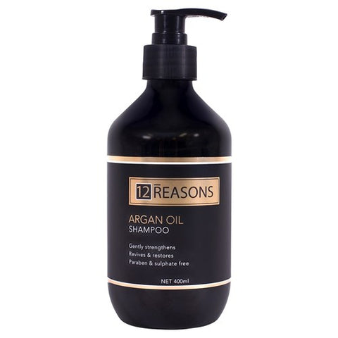 12 Reasons Argan Oil Shampoo 400ml