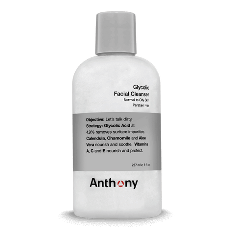 ANTHONY LOGISTICS GLYCOLIC FACIAL CLEANSER – 237ML