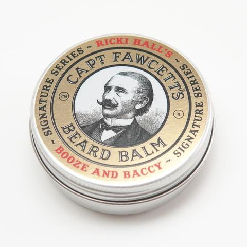 Captain Fawcett Beard Balm Ricki Hall Booze and Baccy 60ml