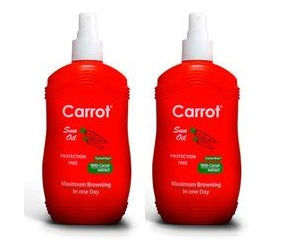 Carrot Sun Australia Carrot Tanning Oil 200ml Duo Pack