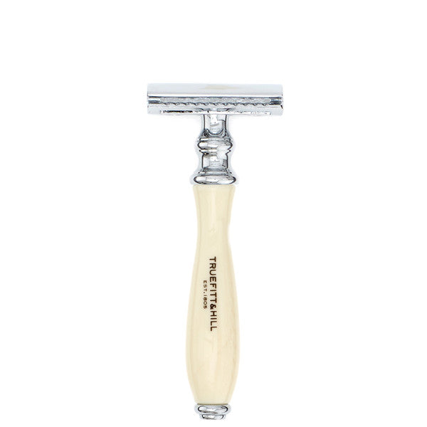 Truefitt and Hill Wellington Double Edge Safety Razor Ivory