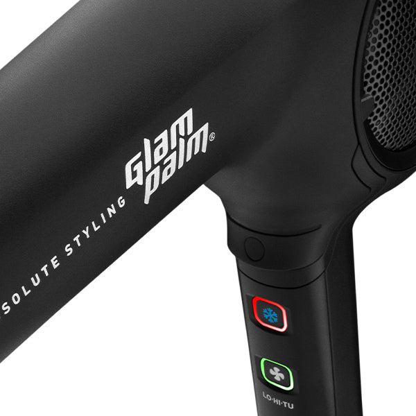 GlamPalm Air Touch Hair Dryer Midnight Black
