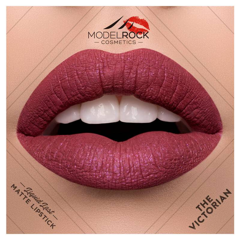 Model Rock Liquid to Matte Longwear Lipstick The Victorian 3.5ml