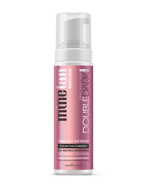 Minetan Double Dark Self Tan Mousse 200ml