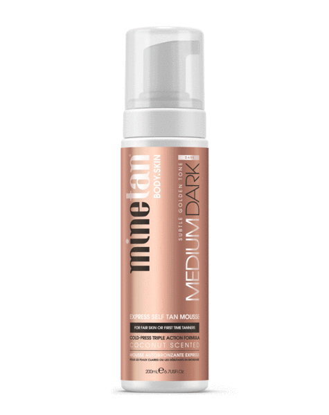 Minetan Medium Dark Self Tan Mousse 200ml