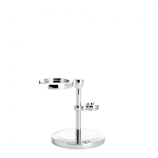 Muhle Chrome Plated Stand for Traditional Safety Razor and Shaving Brush
