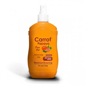 Carrot Sun Australia Papaya Tanning Oil 200ml