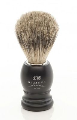 St James of London Ash Super Badger Brush