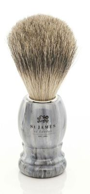 St James of London Castlerock Super Badger Brush