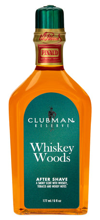 Clubman Reserve Whiskey Woods After Shave Lotion 177ml