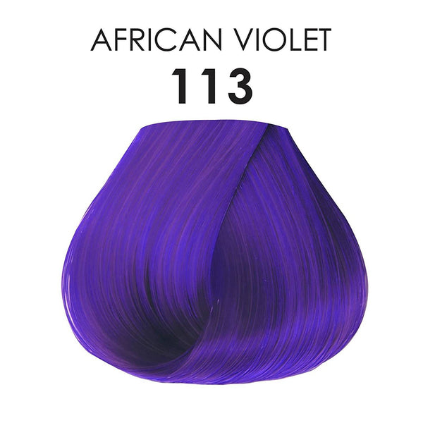 Adore Semi Permanent Hair Colour 113 African Violet 118ml