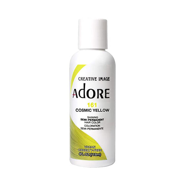 Adore Semi Permanent Hair colour 161 Cosmic Yellow 118ml