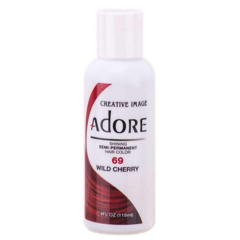 Adore Semi Permanent Hair colour 69 Wild Cherry 118ml