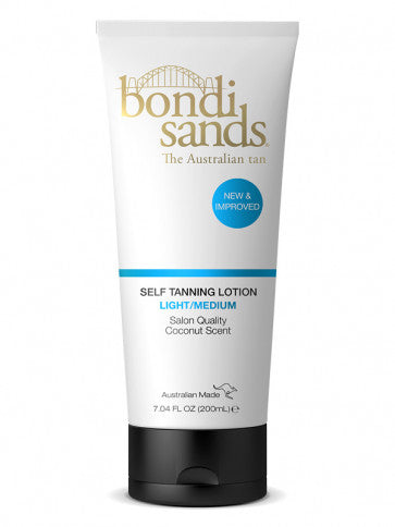 Bondi Sands Self Tanning Lotion Light Medium 200ml