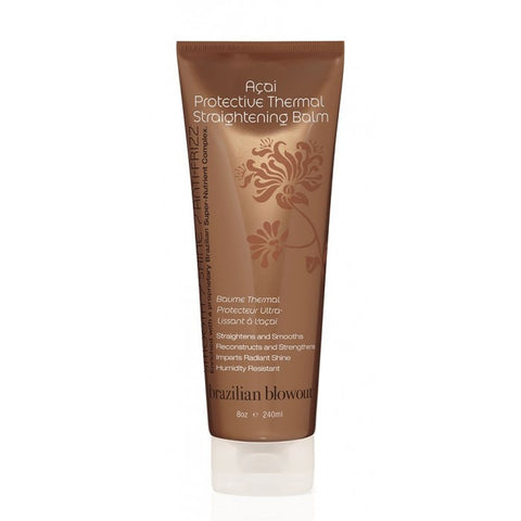 Brazilian Blowout Acai Protective Thermal Straightening Balm 240ml