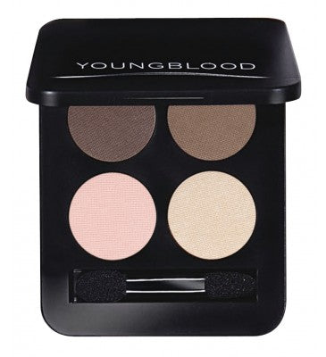 Youngblood Pressed Mineral Eyeshadow Quad Shanghai Nights 4g
