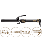 Hot Tools Black Gold Titanium Micro Shine 25mm Curling Iron
