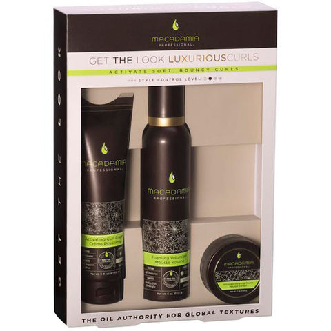 Macadamia Professional Luxurious Curls 3 Pack