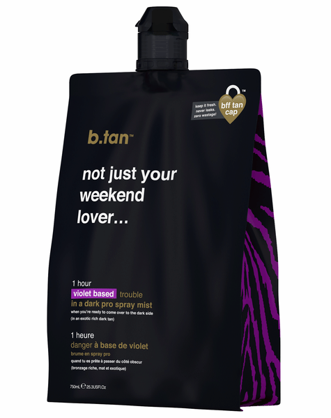 B Tan Not Just Your Weekend Lover Pro Spray Mist 750ml