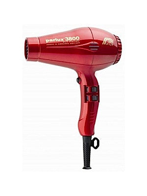 PARLUX 3800 Ceramic and Ionic Dryer 2100W Red