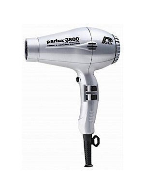 Parlux 3800 Ceramic and Ionic Hair Dryer 2100W Silver